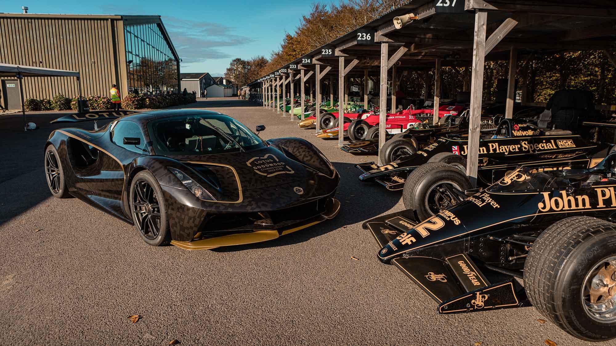 Lotus Evija Electric Car Goodwood Speedweek