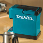 Makita Cordless Coffee Maker Is Powered By Makita's Power Tools' Batteries
