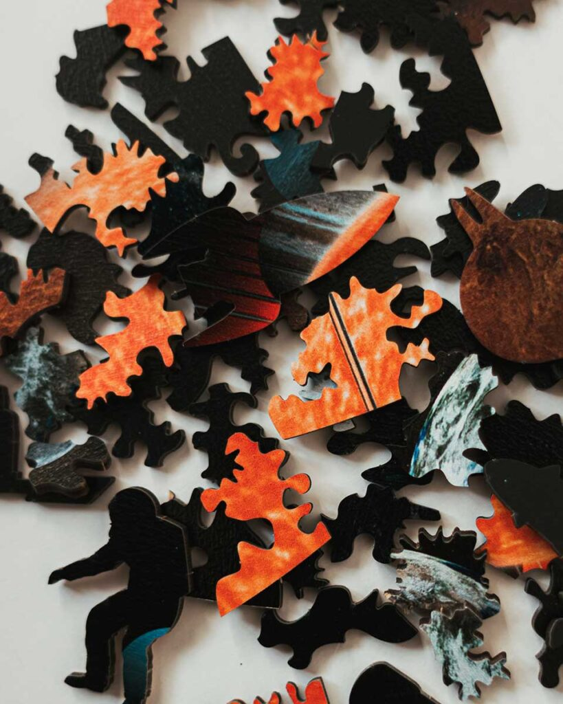 No Ordinary Wooden Jigsaw Puzzle by PuzzleUp
