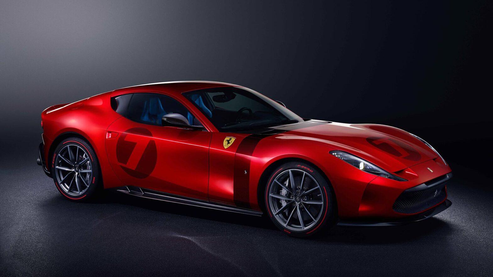 One-off Bespoke Ferrari Omologata Supercar