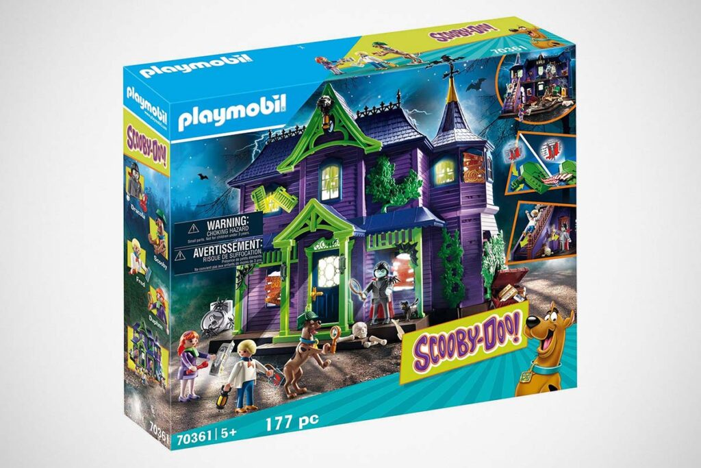 Playmobil Scooby-Doo Mystery Mansion Playset
