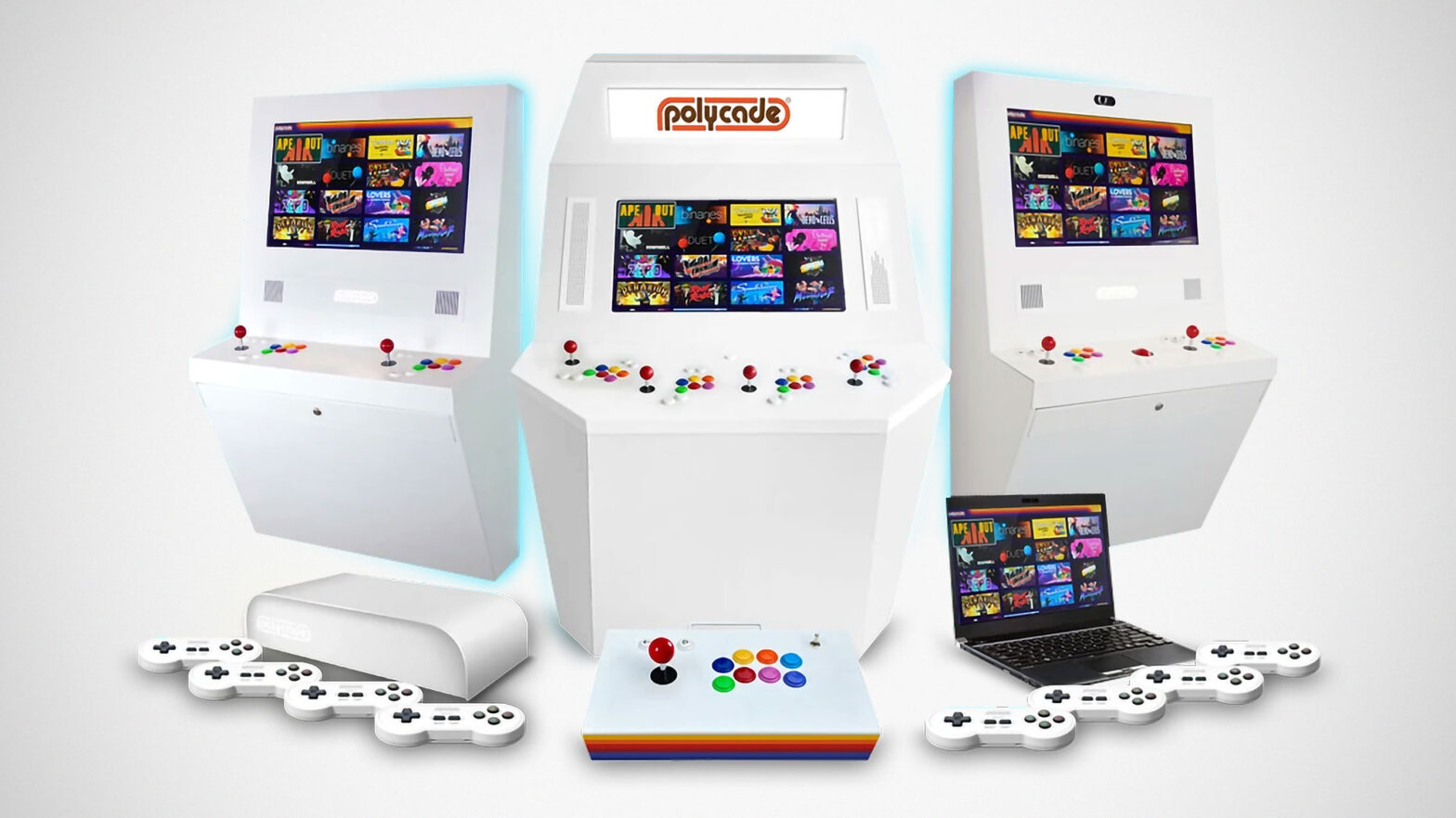 Polycade Retro Arcade Gaming with Modern Twist