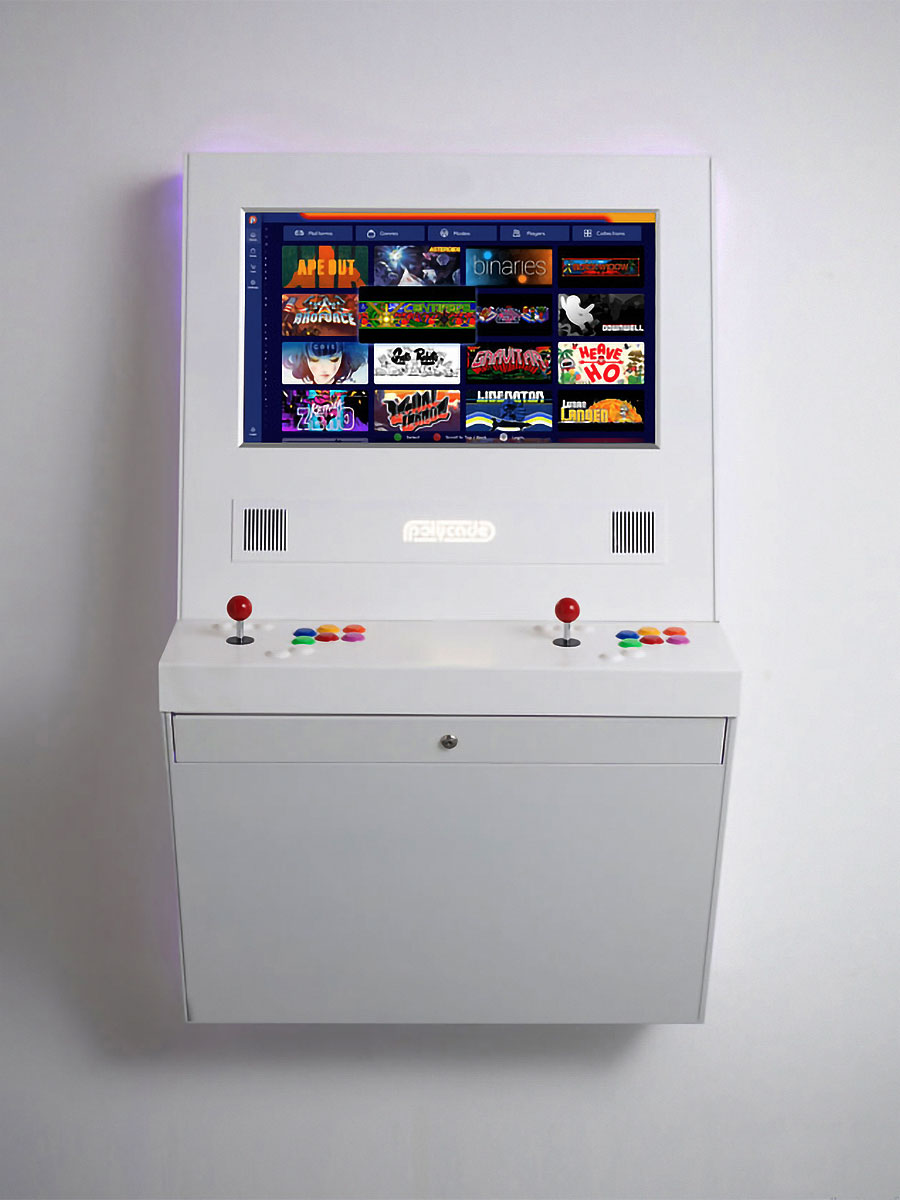 Polycade Wallcade Arcade Machine