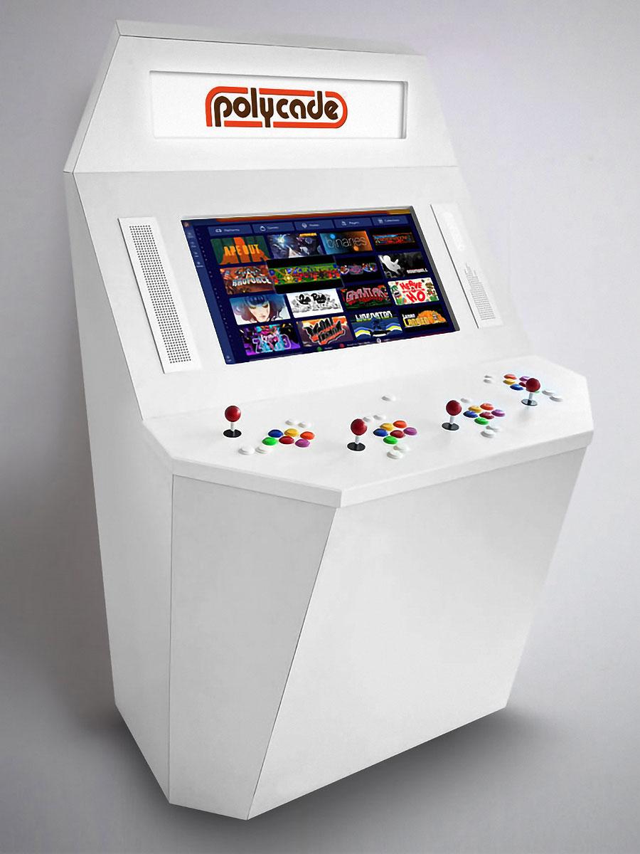 Polycade Squadcade Arcade Machine