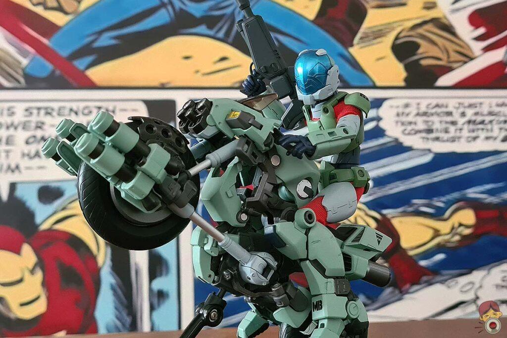Sentinel Riobot VR-052 Battle Cyclone