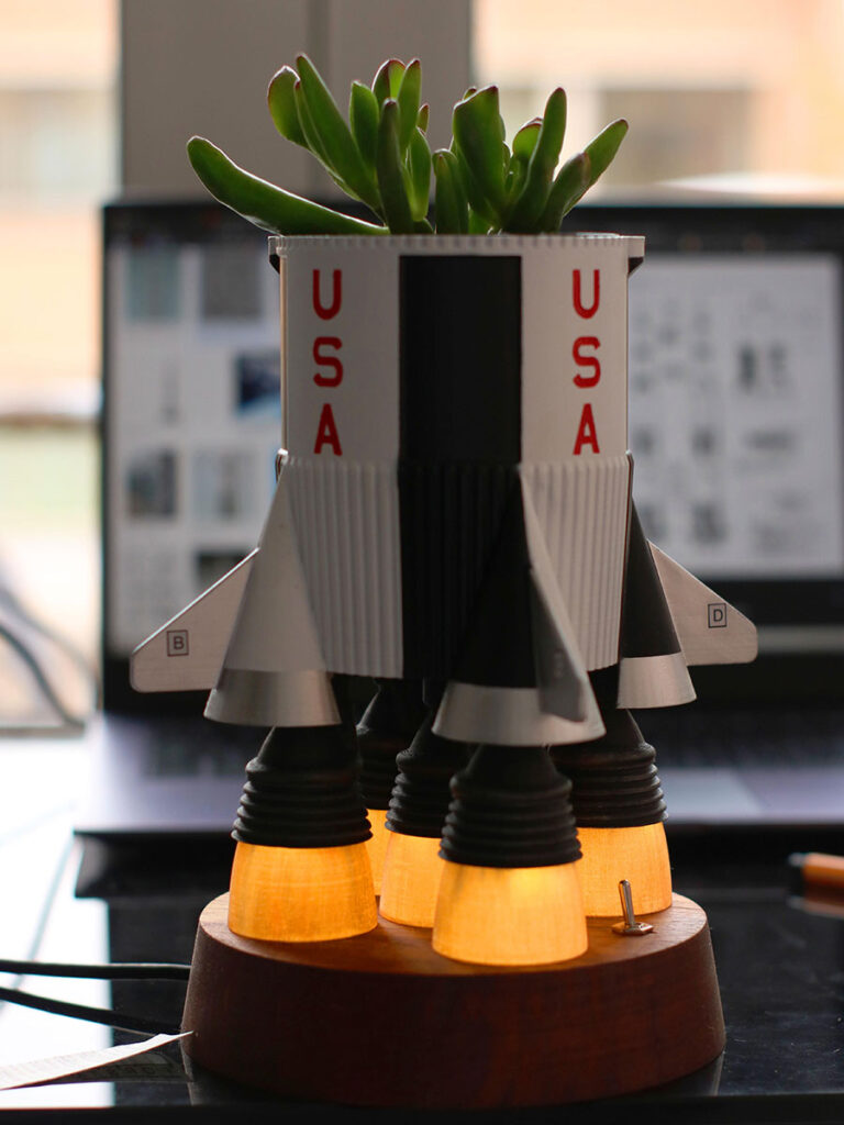 Rocket Planter by SimonRob