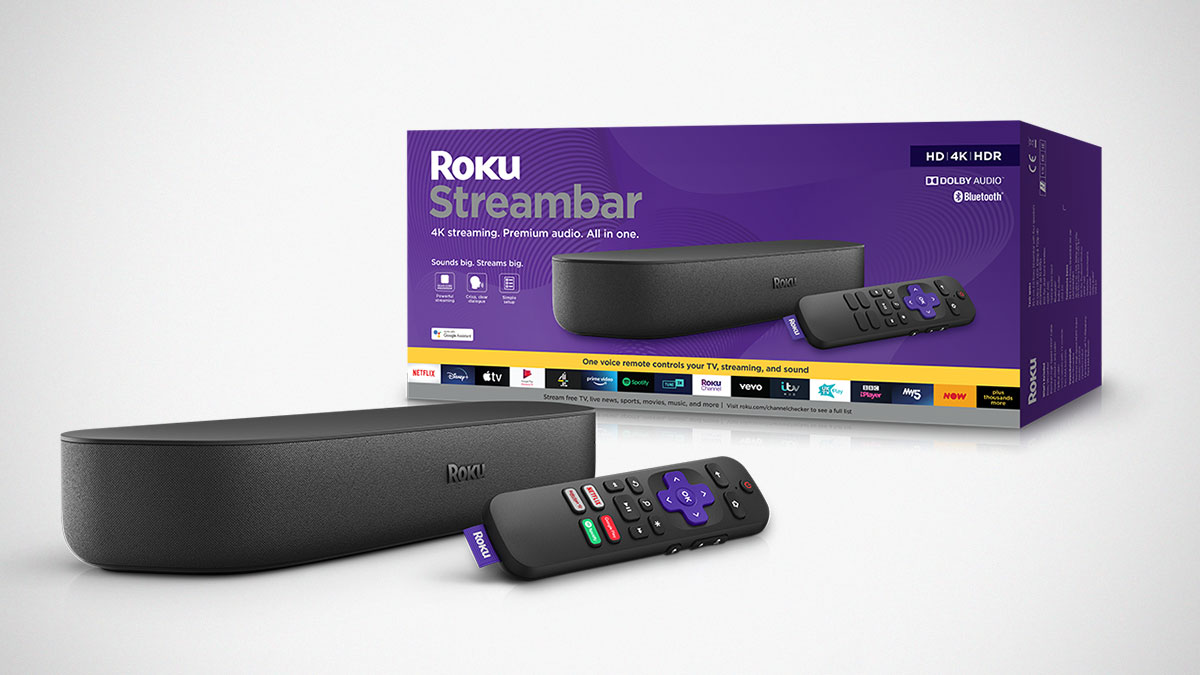 Roku Streambar Streaming Media Player Sound Bar