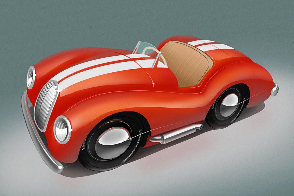 Stefan Marjoram J40 Austin Pedal Car Concepts