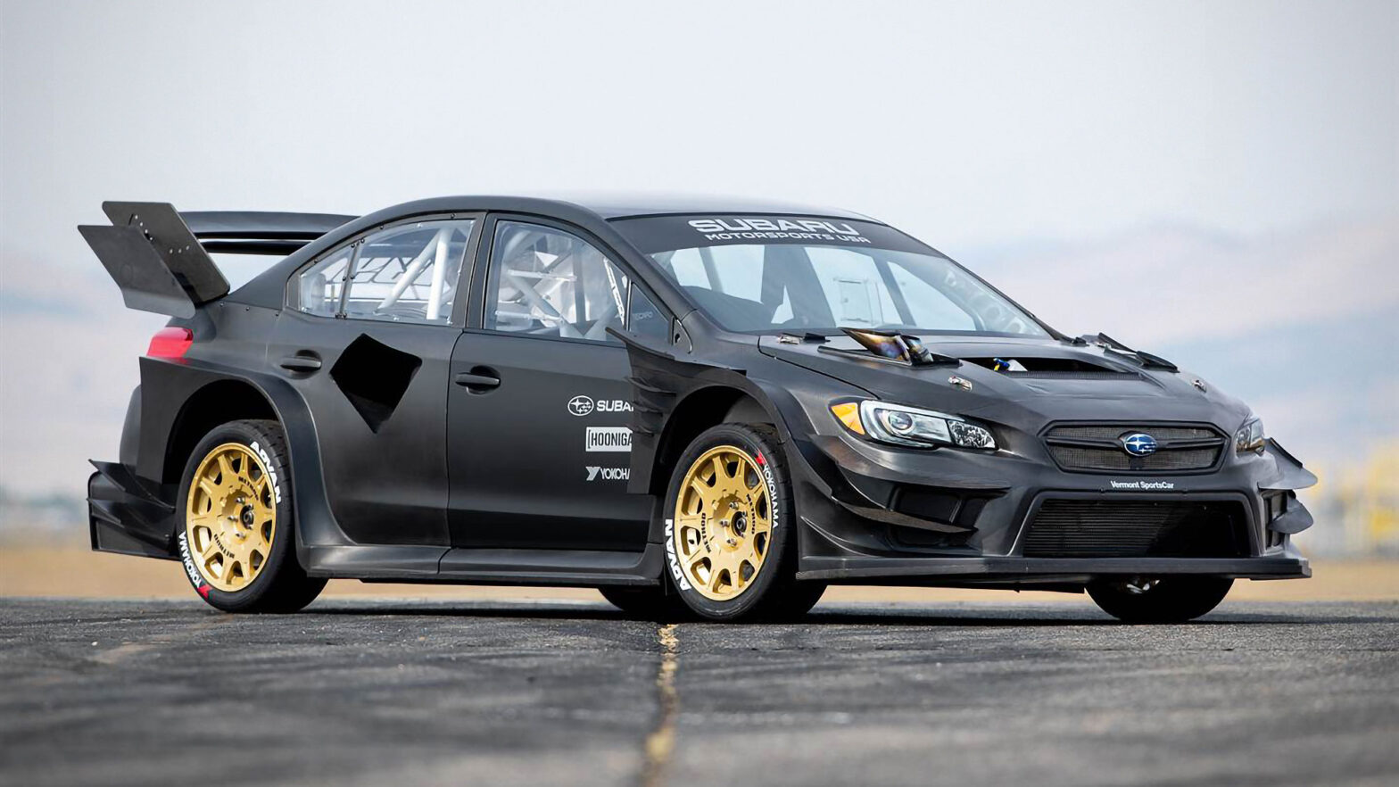 Subaru Gymkhana STI Sports Sedan