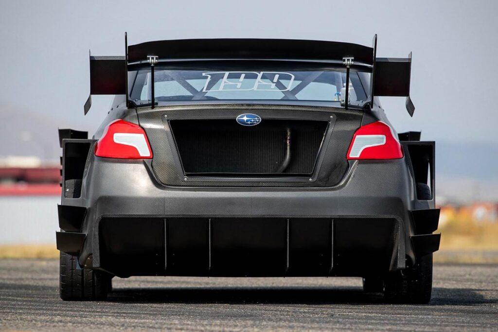 Subaru Gymkhana STI Sports Sedan