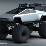 Someone Created A Tesla Cybertruck Monster Truck Render And We Absolutely Dig It