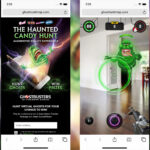 <em>The Haunted Candy Hunt</em> AR Game Lets You Become A Ghostbuster