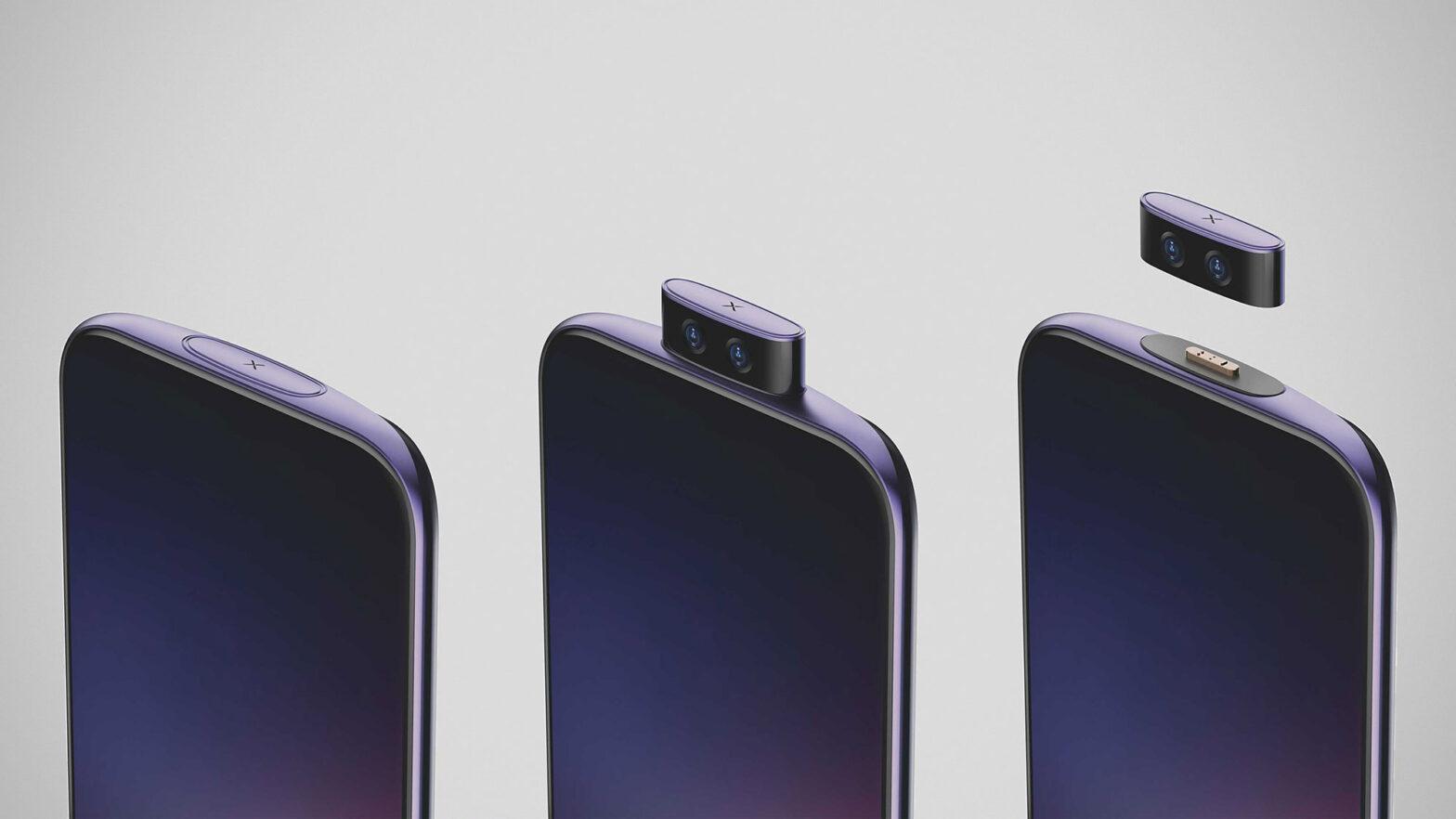 Vivo IFEA Detachable Pop-up Camera Concept Phone