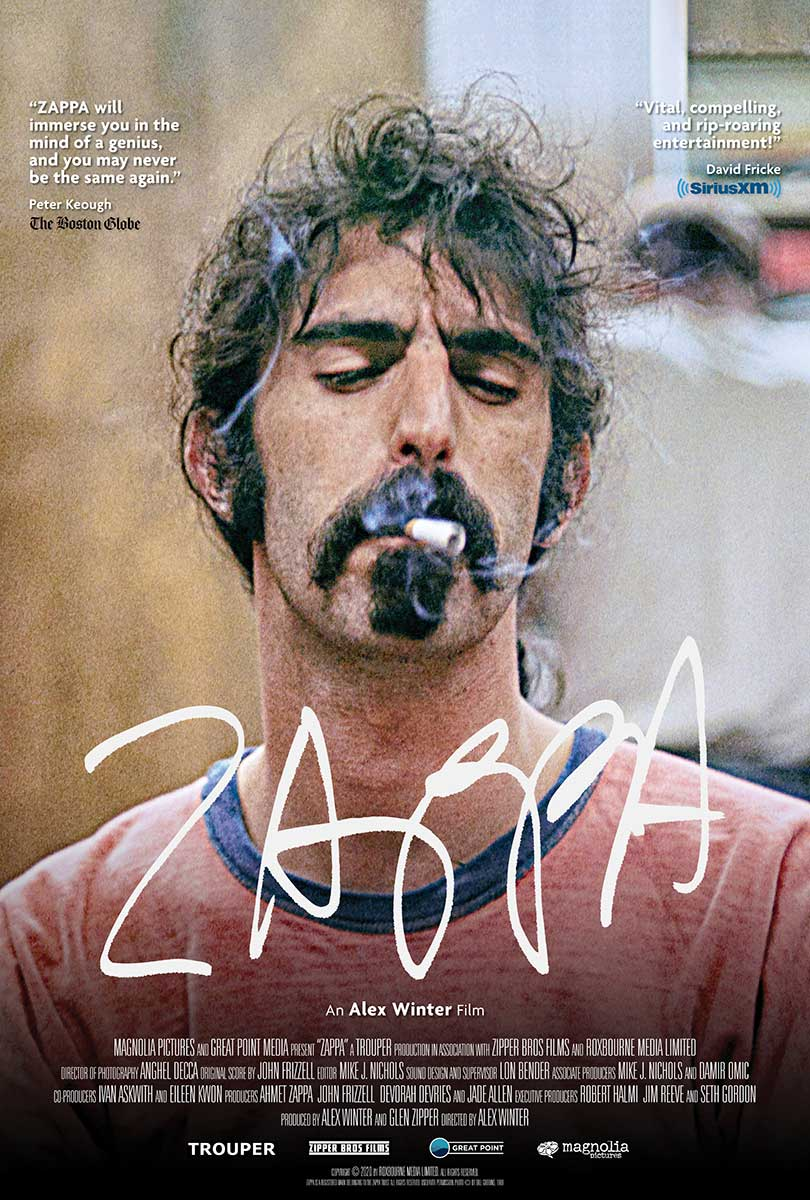 Zappa - The Official Frank Zappa Movie Poster