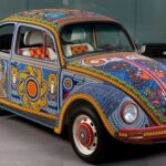 "This 1990 Volkswagen Beetle ""Vochol"" Is Covered With Two Million Glass Beads"