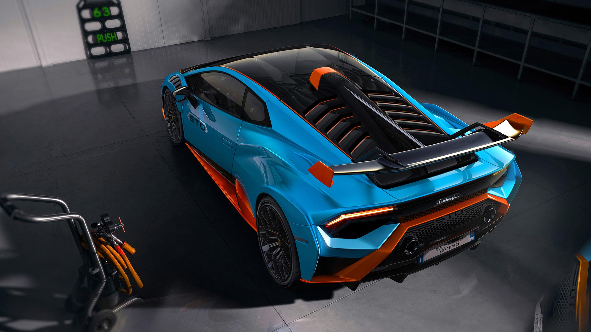 2021 Lamborghini Huracán STO Supercar