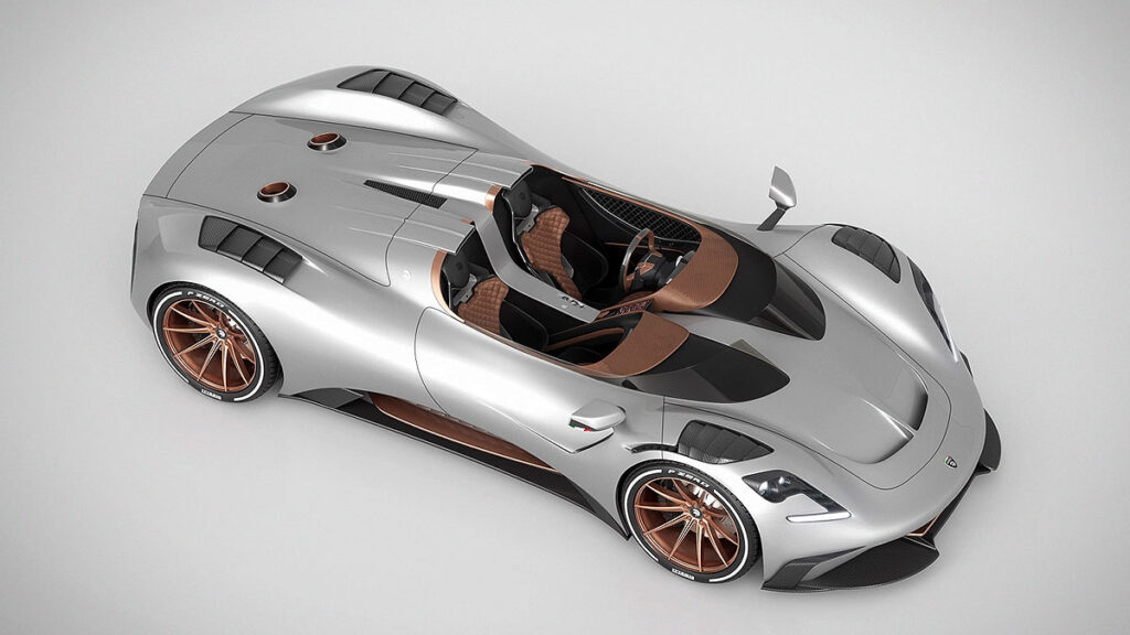 Ares Design S1 Project Spyder Supercar