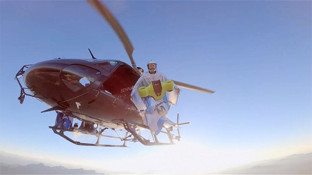 BMW Electric Drive System for Wingsuit