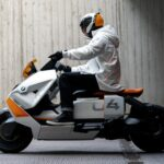 BMW's Vision Of Future 2-Wheeled Urban Mobility Looks Like Life-size Playmobil Motorcycle