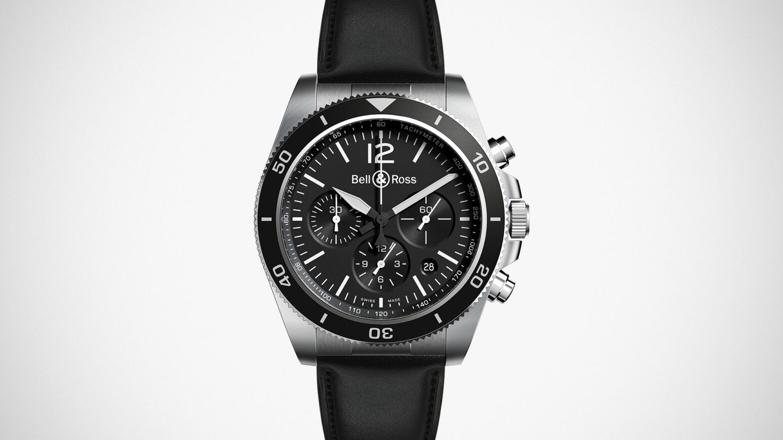Bell & Ross BR V3-94 Black Steel Watch