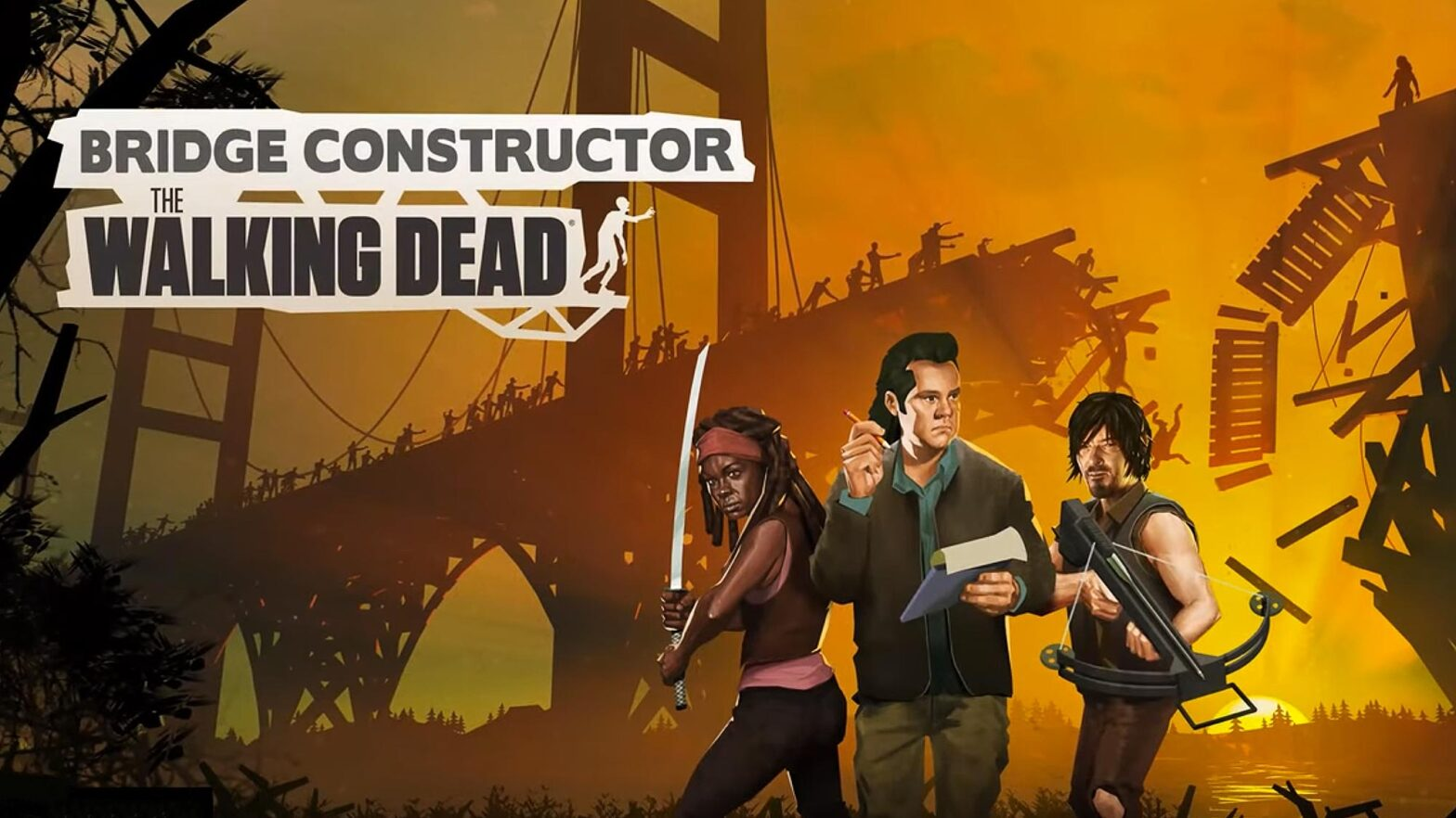 Bridge Constructor The Walking Dead Video Game