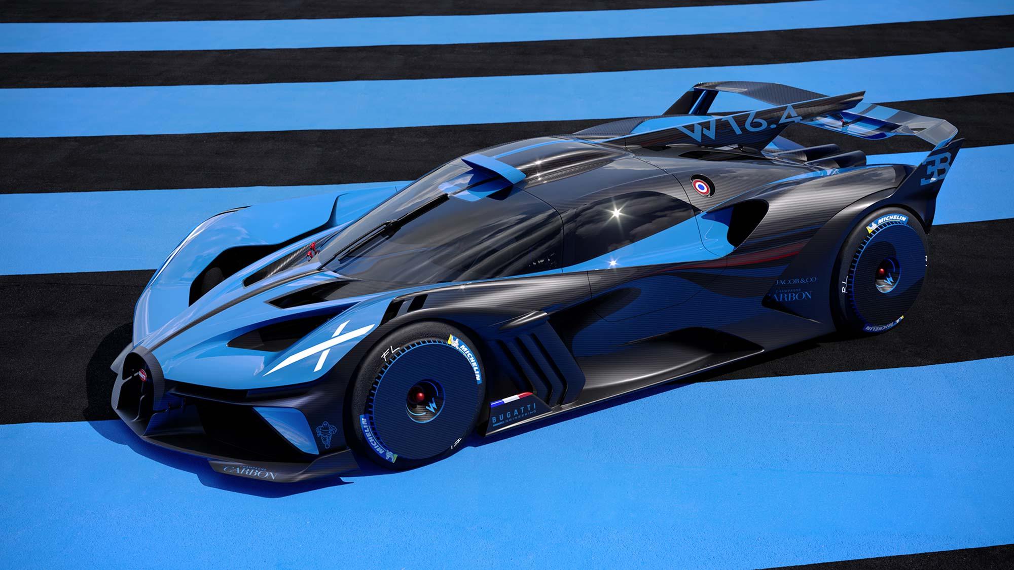 Bugatti Bolide Track-orientated Hypercar