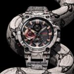 New G-Shock MTGB1000WLP1 Wildlife Promising Has Gorgeous Python Skin Pattern Etched All Over It