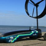 Folks, Meet The Chinook ETS. A Wind Powered Car By A Montreal-based Engineering Team