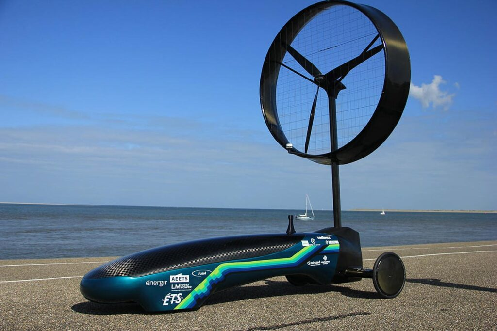 Chinook ETS Wind Powered Car