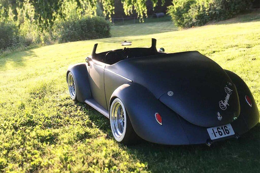 Custom 1961 Volkswagen Beetle Roadster
