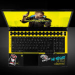 <em>Cyberpunk 2077</em> dbrand Skin For Alienware Gaming Laptops