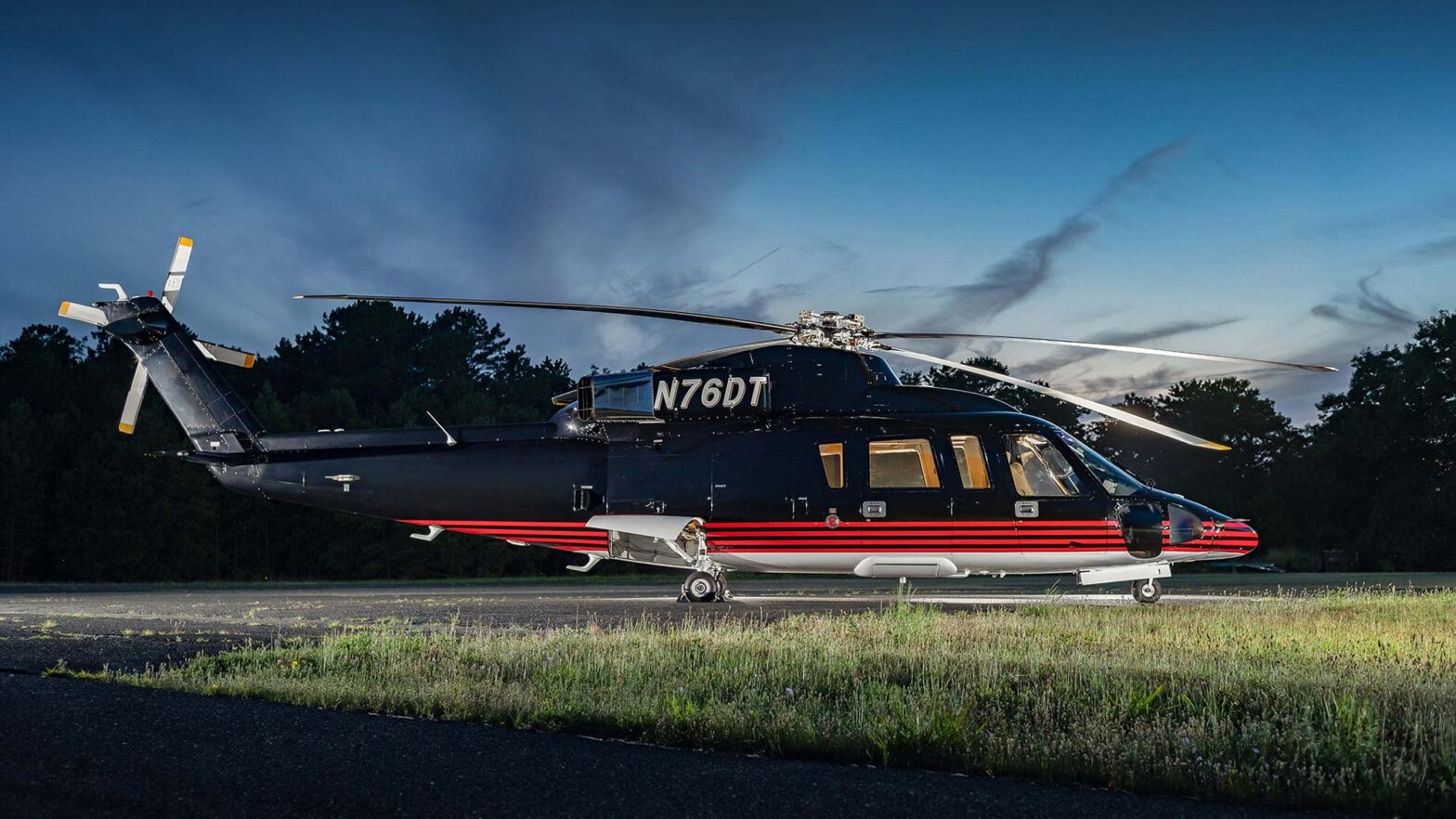 Donald Trump's 1989 Sikorsky S76B Sale