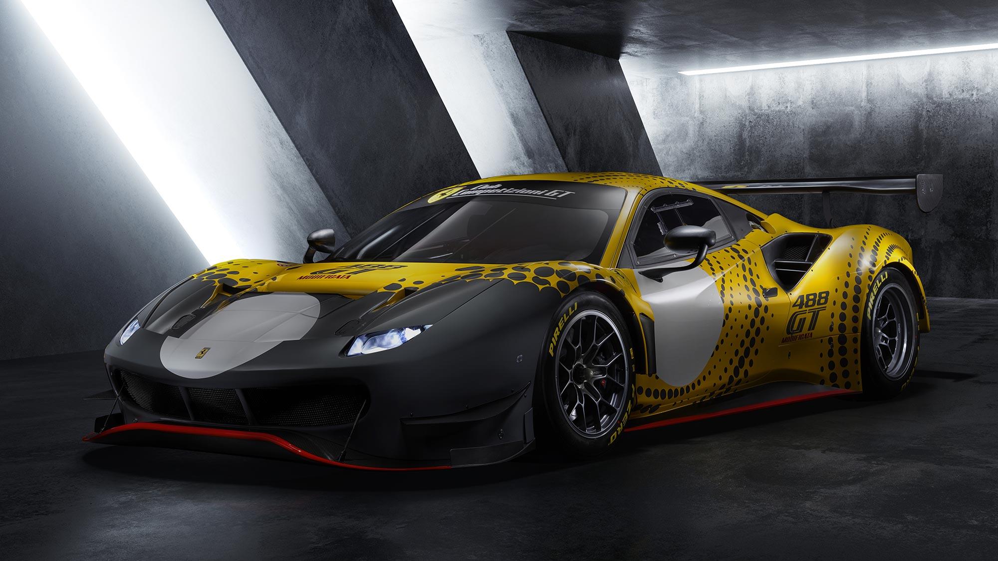 Ferrari 488 GT Modificata Track-only Sports Car