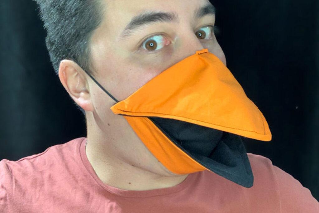"""Fiefdom Design """"Talking"""" Bird Mask on Etsy"""