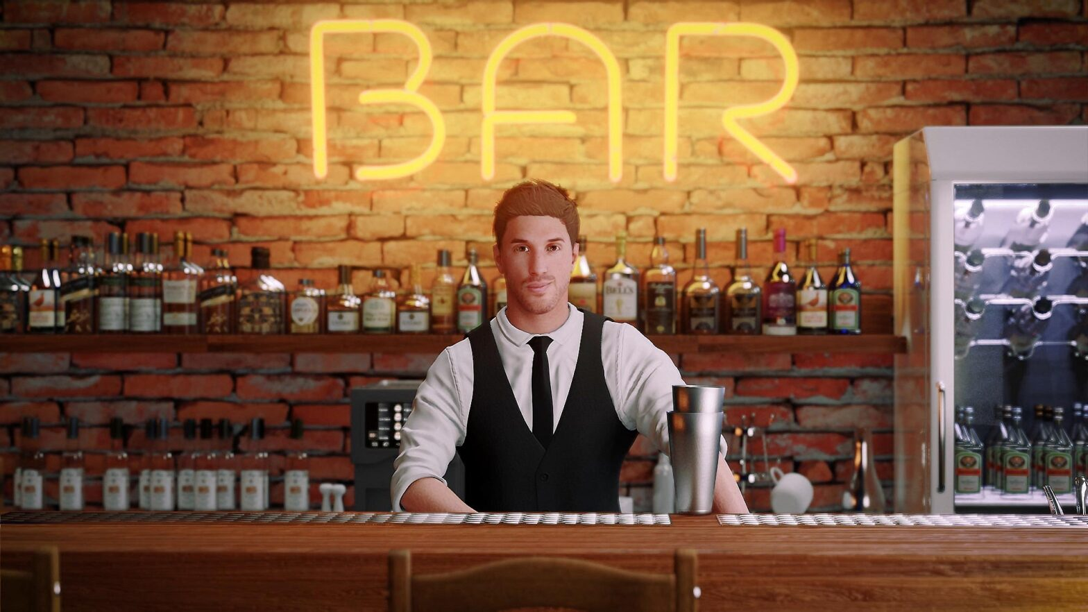 Gameparic's Bartender Simulator Video Game