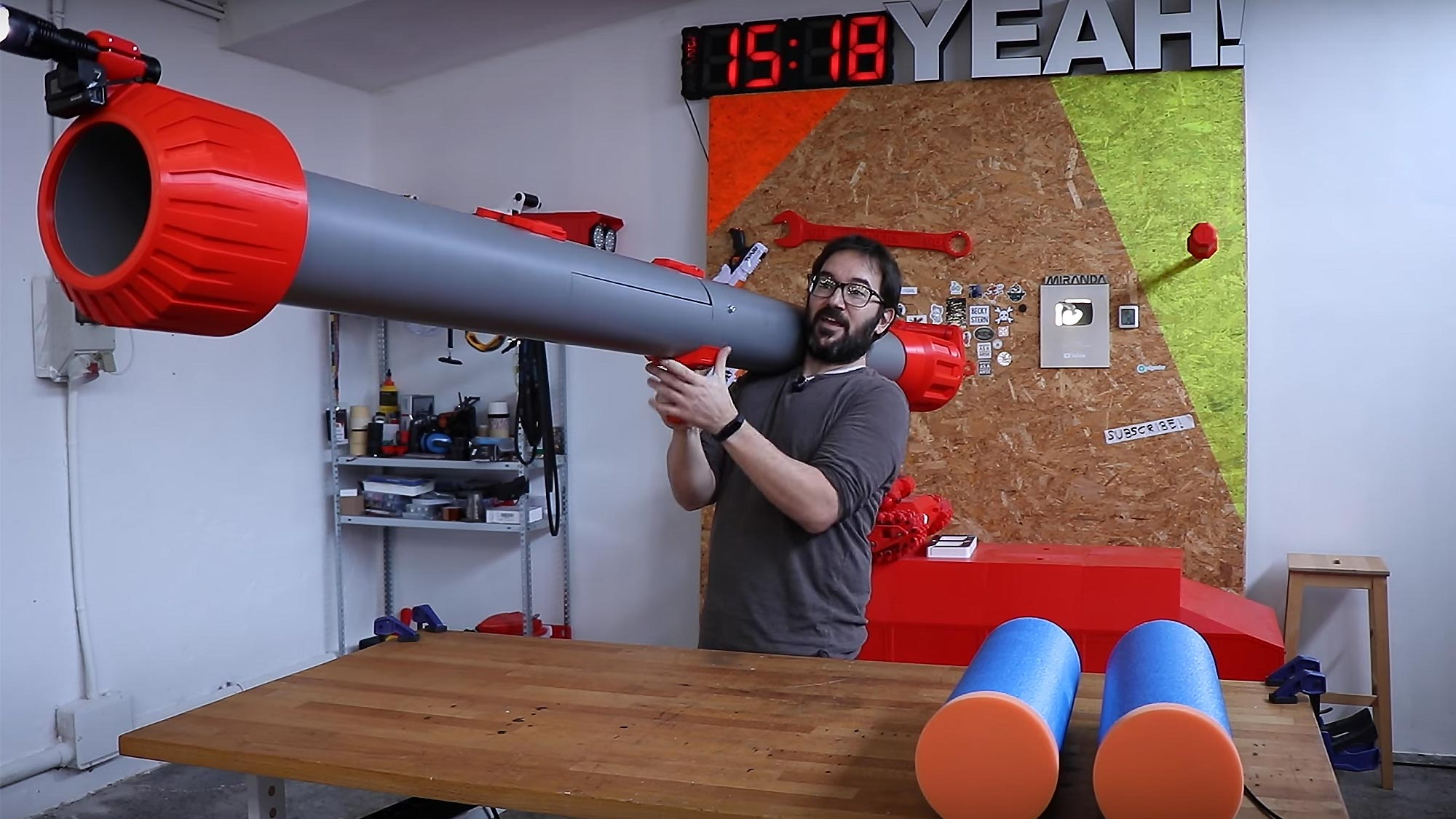 Giant NERF Bazooka by Ivan Miranda