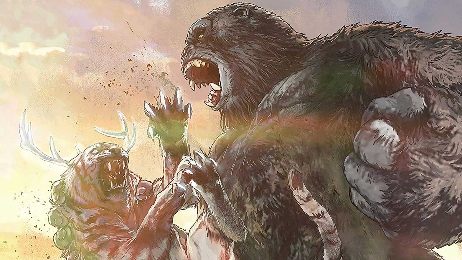 Godzilla vs. Kong Prequel Graphic Novels