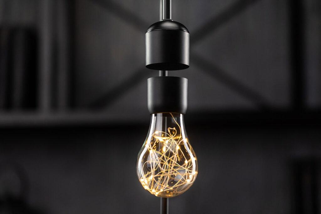 Gravita Levitating Smart Lamp by Floately