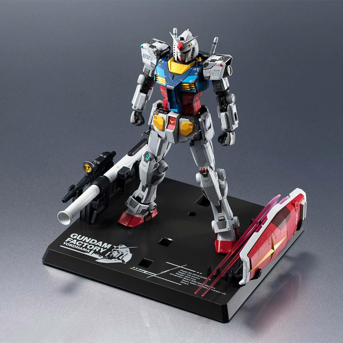 Chogokin x Gundam Factory Yokohama RX-78F00 Gundam