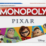 Pixar's Popular Animated Films Come Together In This New Monopoly Board Game