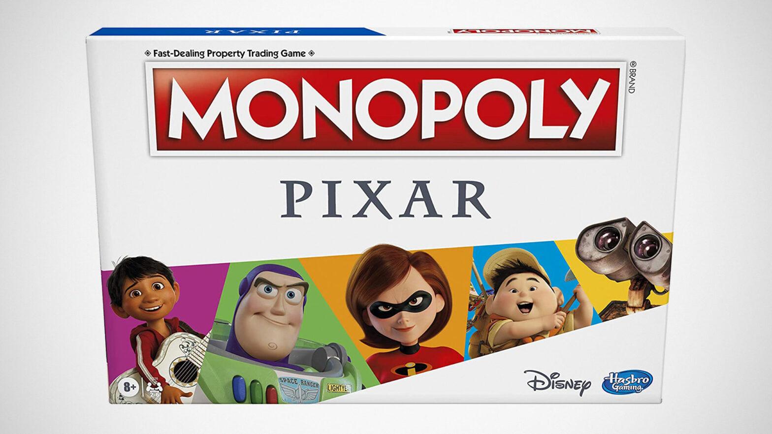 Hasbro Monopoly: Pixar Edition Board Game