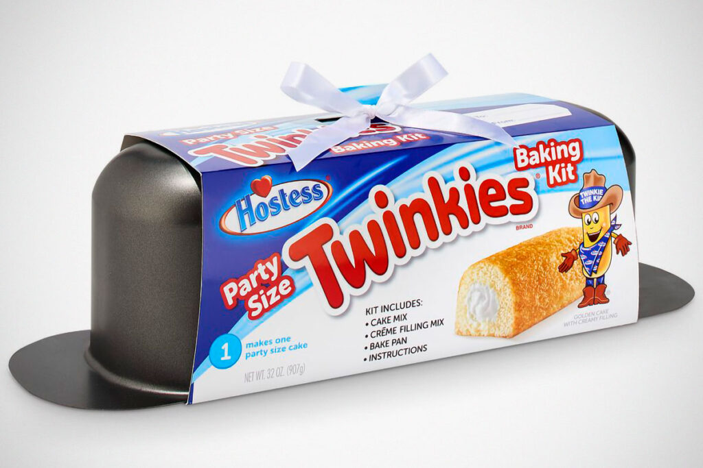 Hostess Party Size Twinkies Holiday Baking Kit