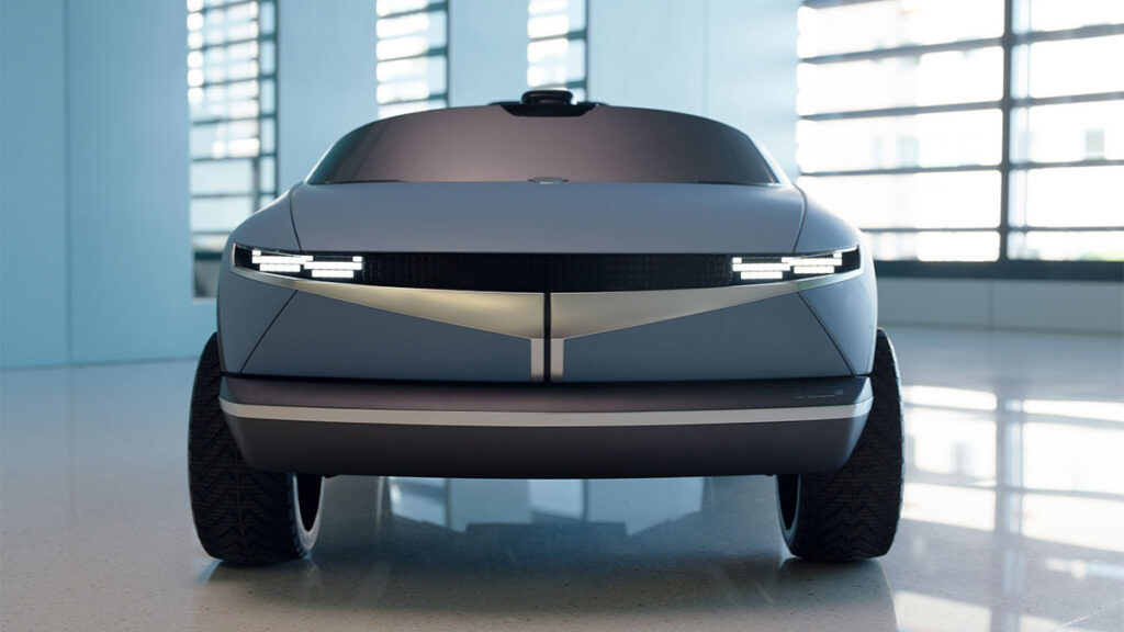 Hyundai 45 Concept Mini EV Kiddie Ride
