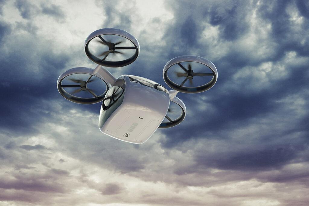 KITE Passenger Drone for Inter-city Transit