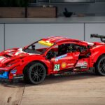 LEGO 42125 Technic Ferrari 488 GTE AF Corse #51 Looks More Like A Scale Model Than A LEGO Model