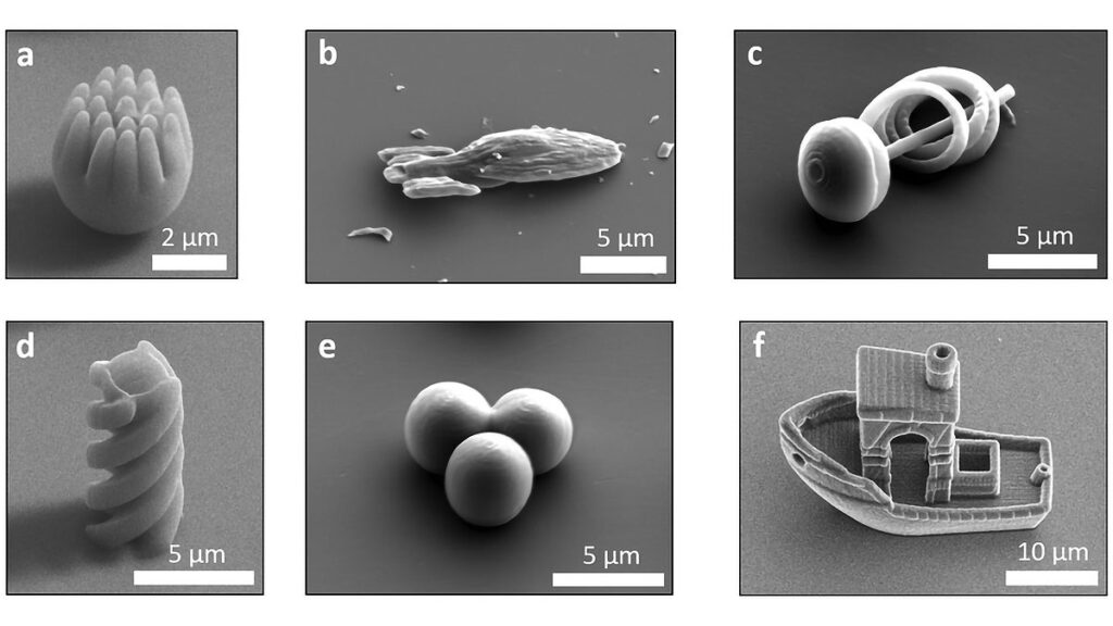 Leiden University 3D Printed Microswimmers