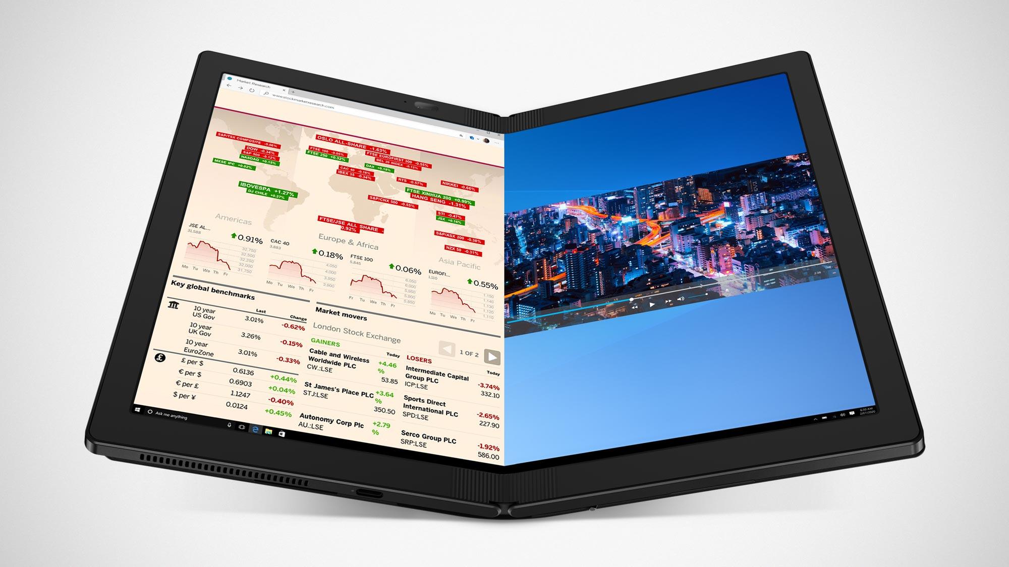 Lenovo ThinkPad X1 Fold Opens for Pre-order