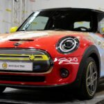 MINI Celebrates 80 Years Of <em>The Flash</em> With This One-Off <em>The Flash</em> Mini Electric