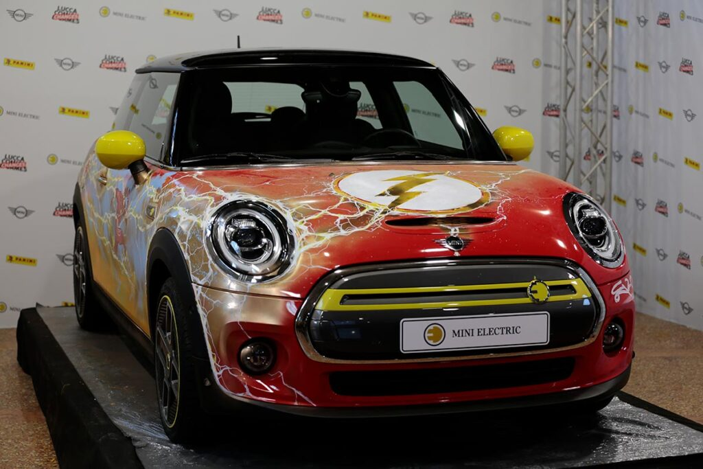 "MINI Electric ""The Flash"" Lucca Changes 2020"