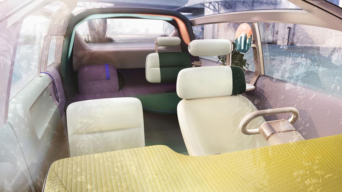 MINI Vision Urbanaut Autonomous Minivan Concept